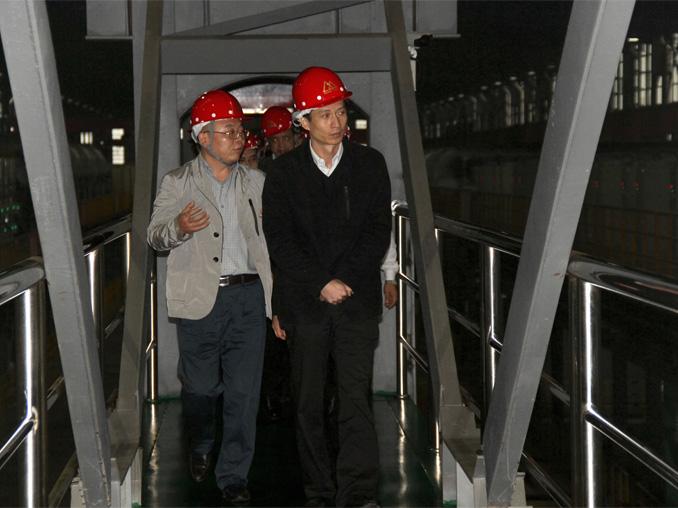 阳江市市长温湛滨、广新集团和青拓集团领导等一行莅临福