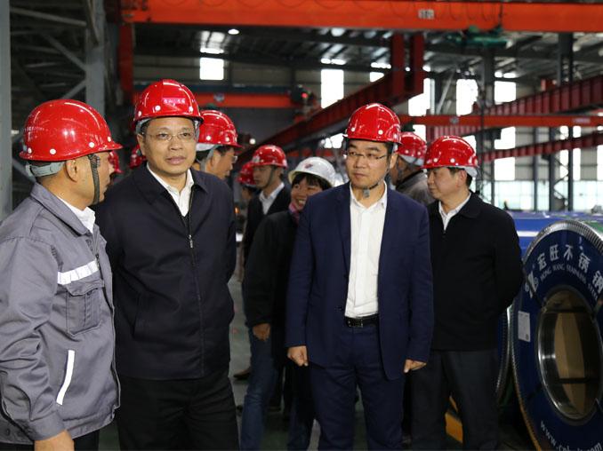 宁德市委副书记、市长郭锡文带领宁德、福安两级党政代表