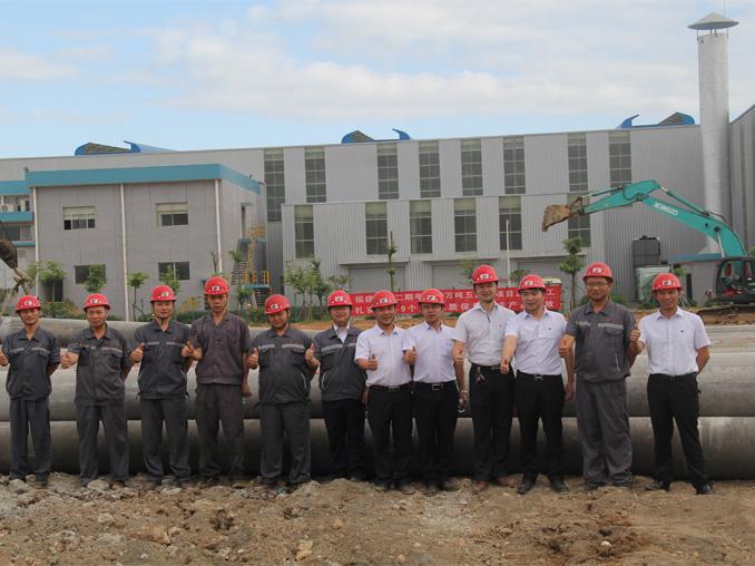 福建雷竞技官网二期年产60万吨五连轧冷轧项目全面开工