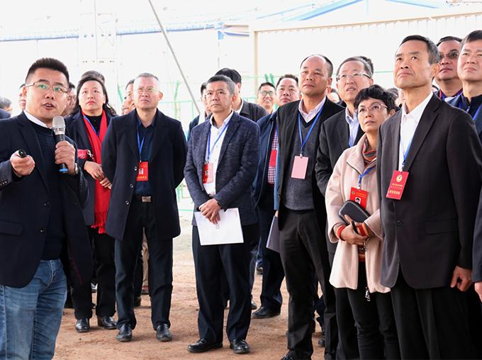 阳江市政协代表团及阳江市人大代表团一行莅临阳江竞博电竞怎么样视察