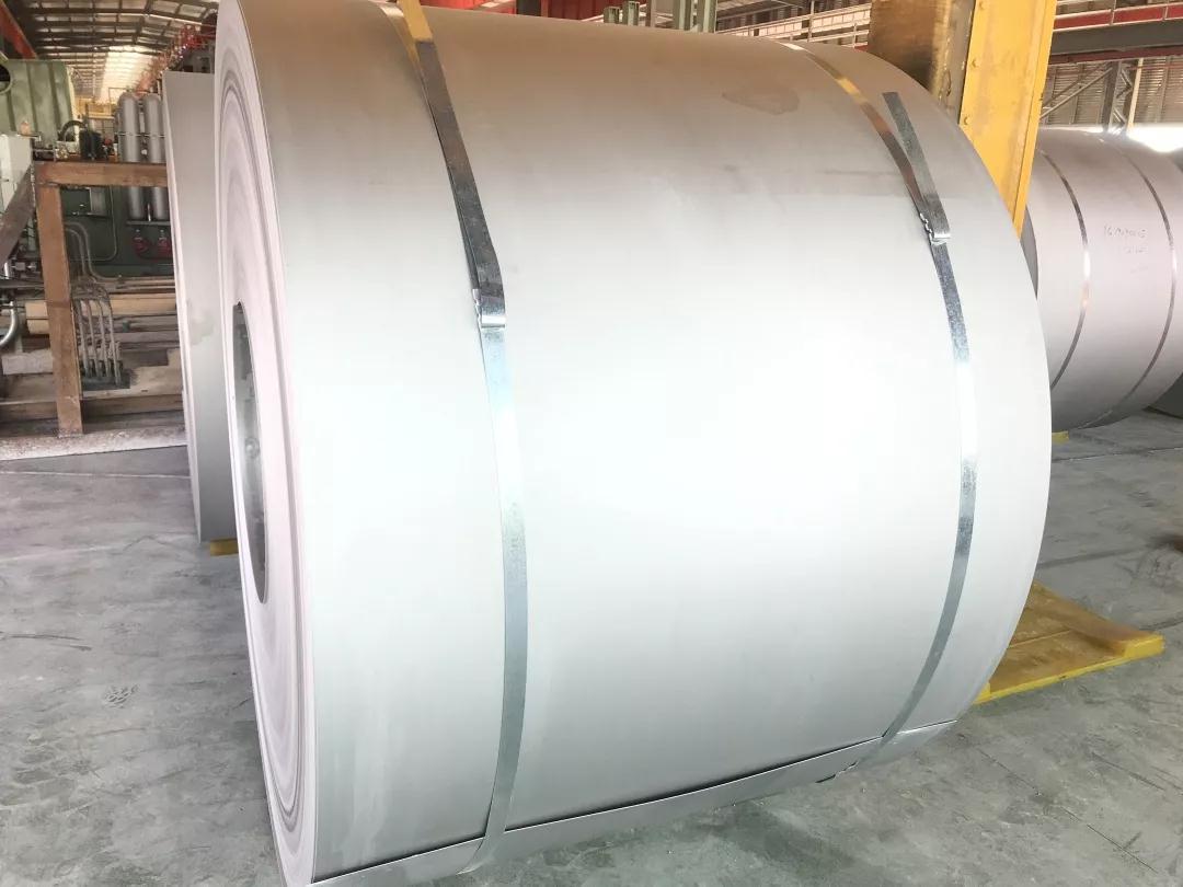 阳江宏旺首期年产70万吨四连轧连退生产机组稳定试产